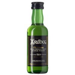 Ardbeg Ten Years Miniatur 0,05 Liter bei Premium-Rum.de online bestellen.
