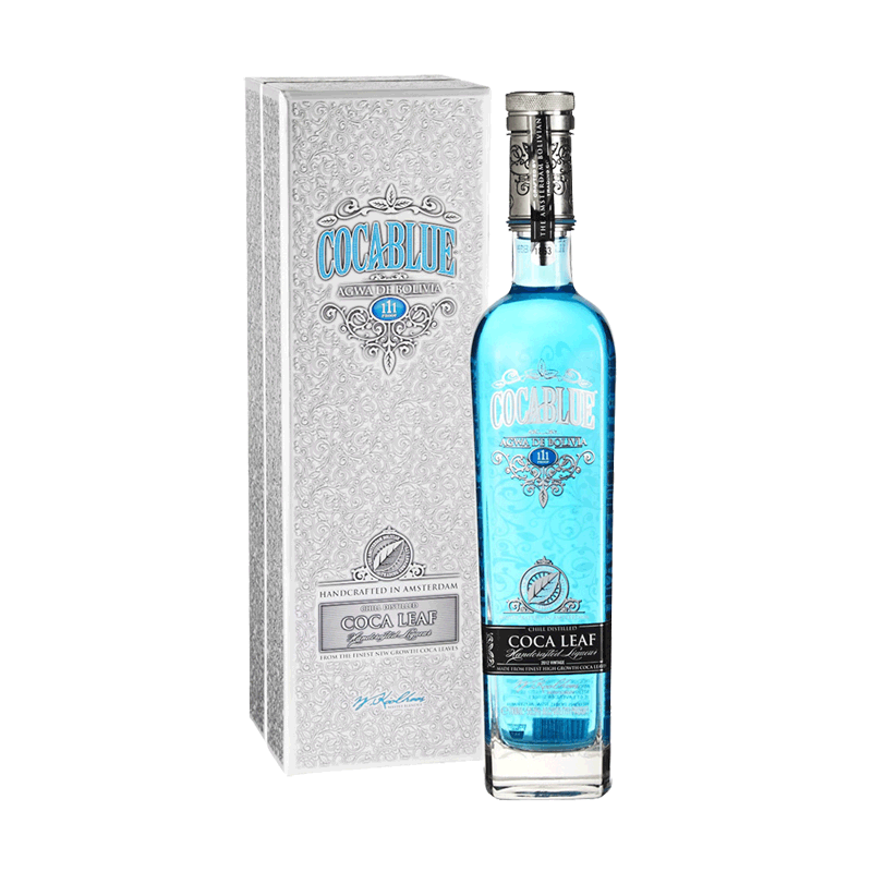 Agwa De Bolivia Coca Leaf Liqueur COCA BLUE Vintage 2012 0,7 Liter hier bestellen.