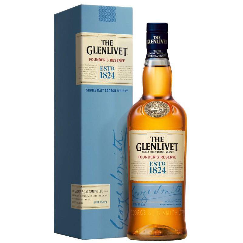 Glenlivet Founders Reserve Speyside Single Malt Whisky 07 Liter B