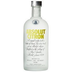 Absolut Vodka Citron 0,7 Liter