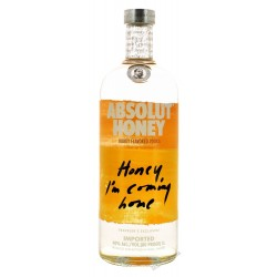 Absolut Honey 1,0 Liter