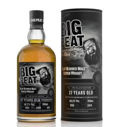 Big Peat 27 Years Old Islay Blended Malt THE BLACK EDITION 2019 48,2% Vol. 0,7 Liter