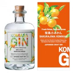 KOMASA SAKURAJIMA KOMIKAN CRAFT Gin 0,5 Liter