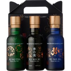 KI NO BI³ Kyoto Dry Gin Tasting Set 3 x 0,2 Liter hier bestellen.