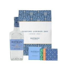 Haymans London Dry Gin 47 % Vol. 0,7 Liter incl. Geschirrtuch und Untersetzer