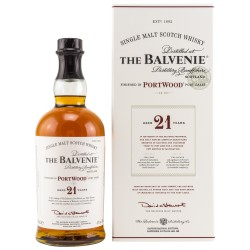 The Balvenie 21 Years Old...