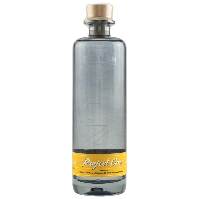 OLD MAN Gin - Project One in der 500ml Flasche