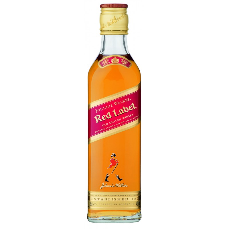 Johnnie Walker Red Label Blended Scotch Whisky 40% Vol. 0,35 Liter hier bestellen.