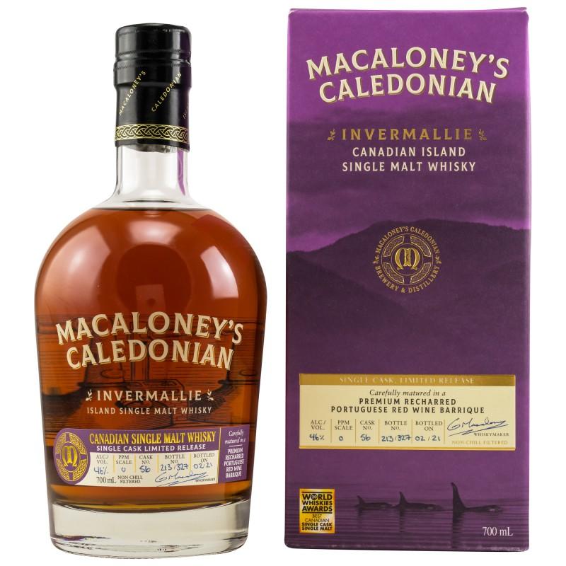 Macaloney's Invermallie Red Wine Barrique 0,7 Liter Limited Release bei Premium-Rum.de online bestellen.