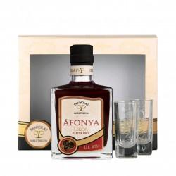Panyolai Mystic Heidelbeerlikör / Misztikum Afonya in Geschenkverpackung bei Premium-Rum.de bestellen.