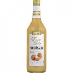 Spitz Eierweinbrand (Eierlikör) 16% Vol. 1,0 Liter bei Premium-Rum.de bestellen.