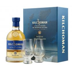Kilchoman Machir Bay Set mit 2 Gläsern 46% Vol. 0,7 Liter bei Premium-Rum.de bestellen.