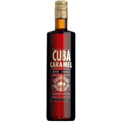 Cuba Caramel Vodka 0,7 Liter